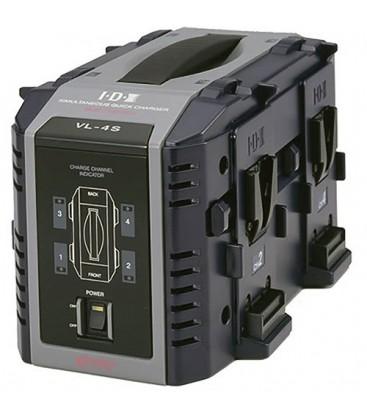 IDX VL-4S 4 CHANNEL CHARGER (V-LOCK)