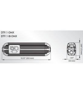 DEDOLIGHT DT9-BI-DMX-E - Power supply for DLED9 Bicolor