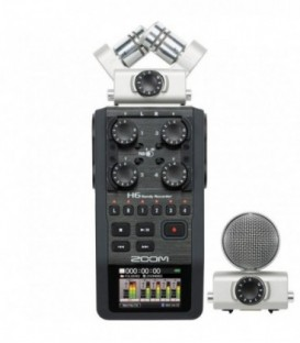 ZOOM H6 PORTABLE AUDIO RECORDER (XLR3 - JACK 3.5MM)