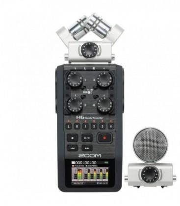 ZOOM H6 PORTABLE AUDIO RECORDER (XLR3 - JACK 3.5MM)