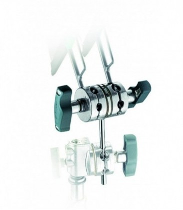 """MANFROTTO D100 DOUBLE GOBO HEAD 2.5"""""""
