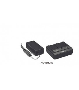 PANASONIC CHARGER AG-BRD50E - 2 BATTERIES