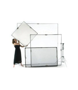 WESCOTT 4X6' SCRIM JIM CINE KIT (120cmx180cm)