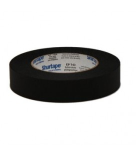 KIP 911-50 - Paper tape Matt Black 50mm x 55m