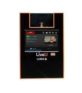 LIVEU LU600-DVB - LU600 video transmit unit