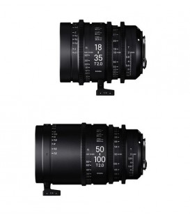 SIGMA CINE ZOOM SET 18-35MM + 50-100MM (PL)