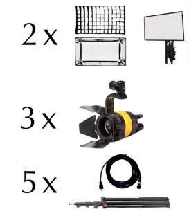 VISUALS 5 LIGHTS INTERVIEW KIT (LED)