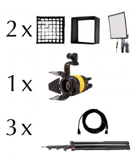 VISUALS 3 LIGHTS INTERVIEW KIT (LED)