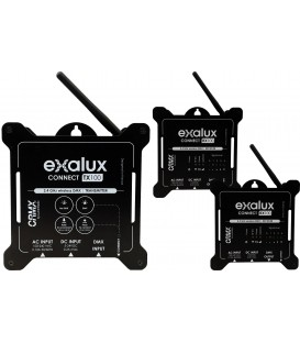 EXALUX KIT CONNECT-ONE + TX10 DMX WIFI