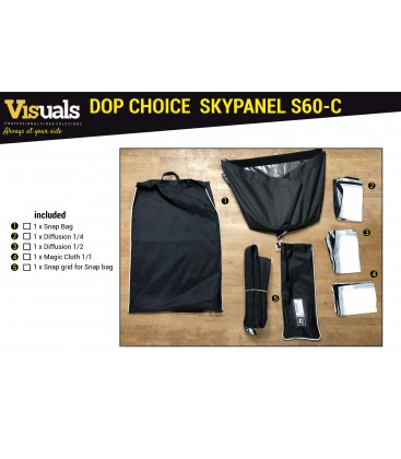 DOP CHOICE ACCESSORY KIT FOR SKYPANEL S60-C