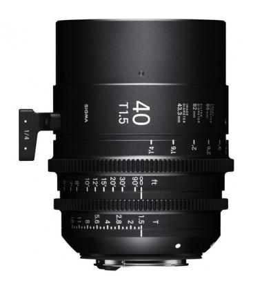 SIGMA LUMINOUS 40MM T1.5 (PL)