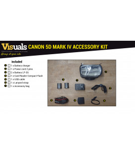 CANON 5D MARK IV ACCESSORY KIT