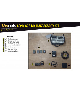 SONY A7S MARK II ACCESSORY KIT