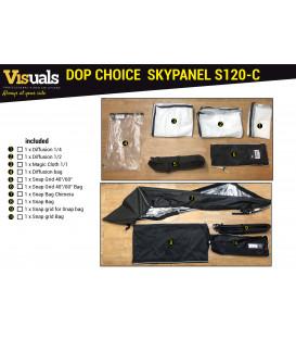DOP CHOICE ACCESSORY KIT FOR SKYPANEL S120-C